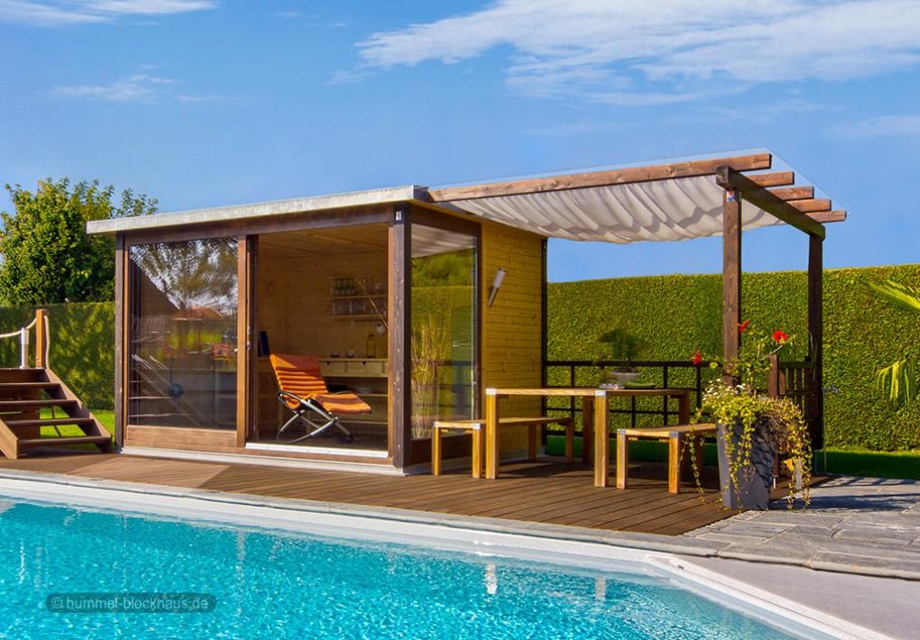 Moderne & individuelle Gartenhäuser, Gartensaunen, Gartenpavillons ...