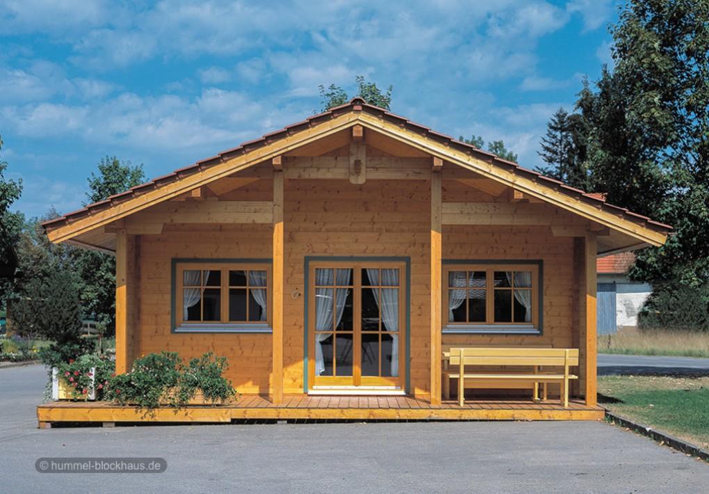 Hochwertiges Ferienblockhaus nach Mass - HUMMEL Blockhaus