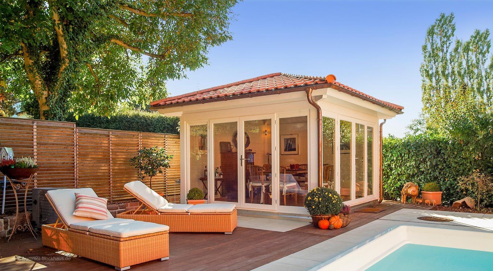 Romantisches gartenhaus for Individuelle gartenhauser