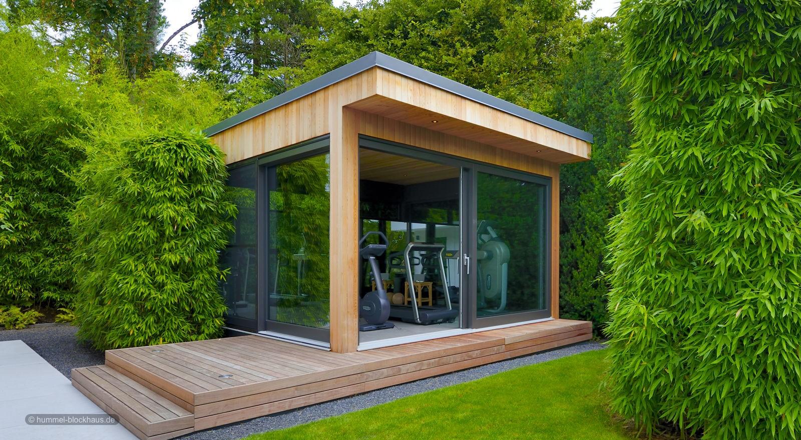 Moderne Individuelle Gartenhäuser Gartensaunen Gartenpavillons