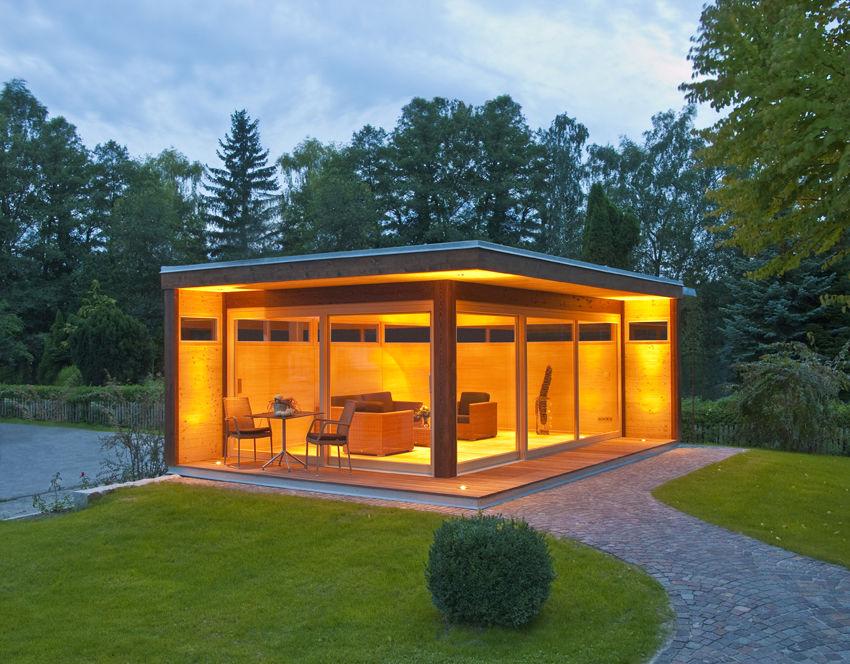 gartenhaus modern nach wunsch geplant und gefertigt. Black Bedroom Furniture Sets. Home Design Ideas
